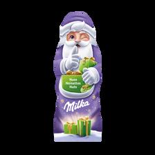 Milka Père Noël Chocolat Au Lait Avec Noisettes , 100g