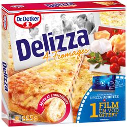 Delizza 4 fromages DR OETKER, boite de 555g