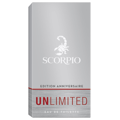 Eau de toilette unlimited SCORPIO, 75ml