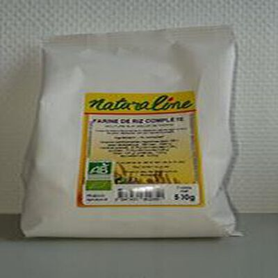 Farine de riz complète Naturaline bio 500g