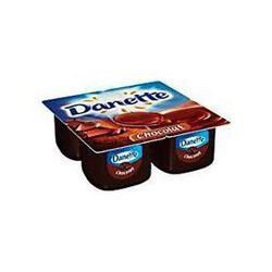 Crème dessert au chocolat DANETTE, 4x100g