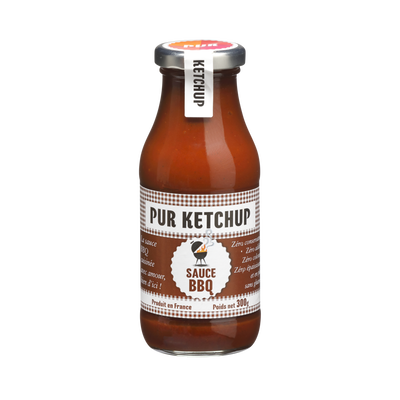 Sauce barbecue PUR KETCHUP, 300g