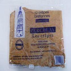 12 Crêpes bretonnes faites main sans colorant ni conservateur - 370 g