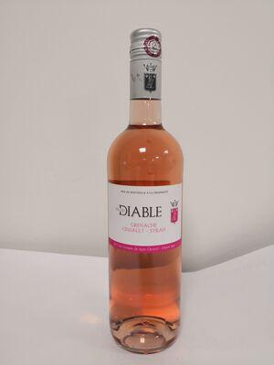 IGP Pays d'Oc - Vignerons de St Christol - Feu du Diable rosé