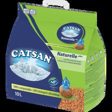 Litière pour chat CATSAN Végétale Plus, 10l