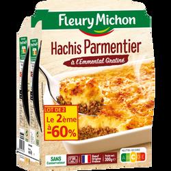 Hachis parmentier FLEURY MICHON barquette x2 (2e-60%) 600g