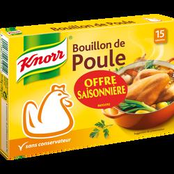 Bouillon poule KNORR, 15 tablettes soit 150g