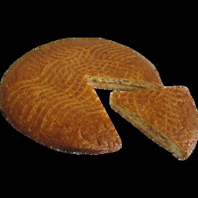 Galette sablée abricot avec fève classique, 1 pièce, 450g