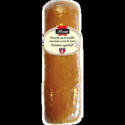 Brioche au véritable saucisson cuit de Lyon RANDY format apéritif 380g