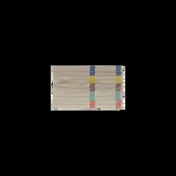 Blocs vendeur SUFFREN, 66x135mm, 100 feuilles, 10 unités