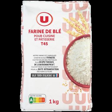 Ballantine's Farine De Blé Pâtissière T45 U, Paquet De 1kg