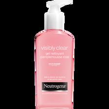 Neutrogena Gel Nettoyant Au Pamplemousse Rose Visibly Clear , 200ml