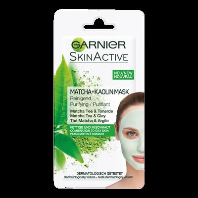 Masque pure argile Skin Active GARNIER, unidose 8ml