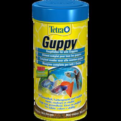 Guppy food pour poissons, TETRA, 250ml