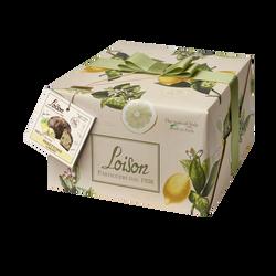 Panettone coeur citron LOISON 600g