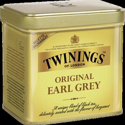 Thé Earl Grey TWININGS, coffret de 200g