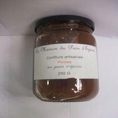 confiture artisanale poires au pain d'epices