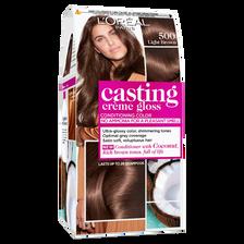 Coloration ton sur ton CASTING Crème Gloss, châtain clair n°500