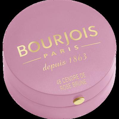 Blush boîte ronde 048 cendre de rose brune BOURJOIS, 2,5g