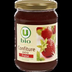 Confiture de fraises U BIO, 360g