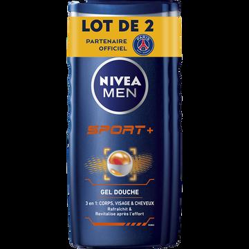 Nivea Gel Douche Sport Nivea Men, 2x250ml