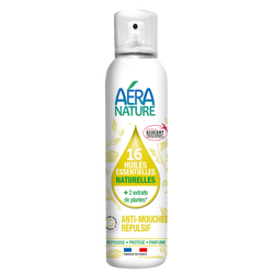 Anti-mouches aux 2 actifs et 16 huiles essentielles aera nature 125ml