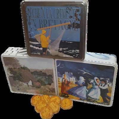 Grand coffret galettes beurre à la fleur de sel BISCUITERIE JOUBARD, 600g