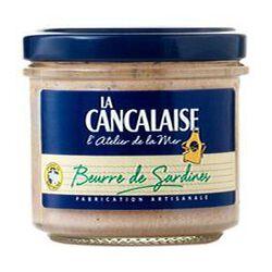 beurre de sardines 90 gr LA CANCALAISE