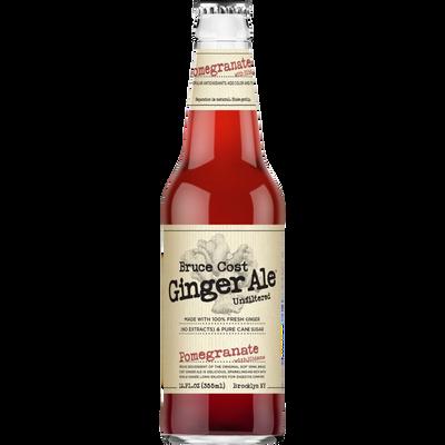 Jus de fruits et légumes Ginger Ale grenade hibiscus BRUCE COST, 355ml