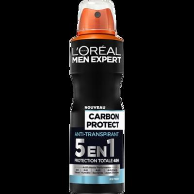 Déodorant 5 en 1 Intense Ice MEN EXPERT, atomiseur de 200ml