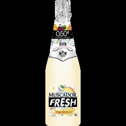 Vin mousseux saveur fresh pina colada MUSCADOR, 75cl