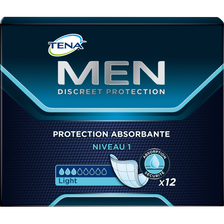 Serviettes d'incontinence Level 1 TENA FOR MEN, x12