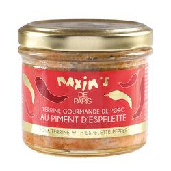 Terrine gourmande au piment d'espelette MAXIM'S DE PARIS BY EPICURE Sélection