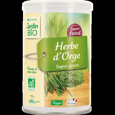 Superalim Herbe d'Orge JARDIN BIO