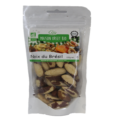 Noix du brésil bio MAISON ORSET BIO, sachet de 100g