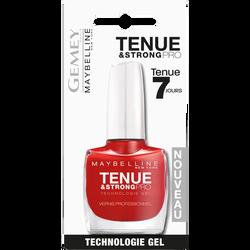 "Vernis à ongles ""Tenue et strong"" n°505 soho so hot forever red - blister MAYBELLINE"