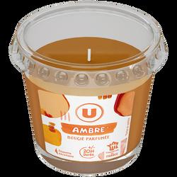 Bougie parfumée ambre U 90g