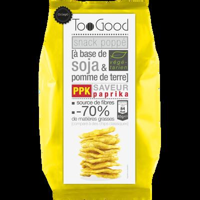 Soufflés au soja et pomme de terre goût paprika TOOGOOD, 85g