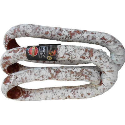 Saucisse de lacaune IGP à la perche, FOURGASSIE