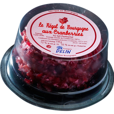 Regal de bourgogne cranberry lait pasteurisé 32% MG 110g