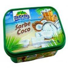 Sorbet PARADIS 1L, parfum coco