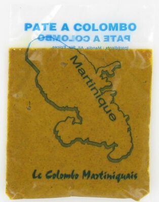 Pâte à colombo pimentée