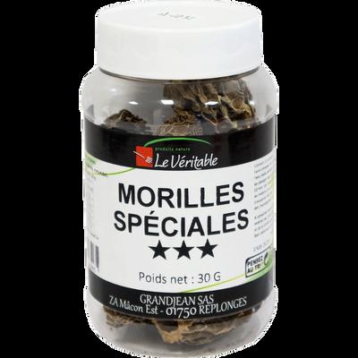 Morille spéciale 3*, pot 30g