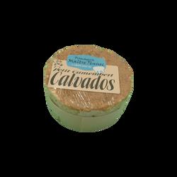 Petit camembert Calvados lait pasteurisé, 22%mg, Maitre Pennec 150g