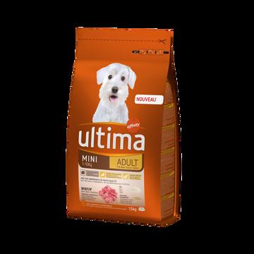 Ultima Croquettes Spécial Mini Adulte Boeuf P/chien Ultima, 1,5kg