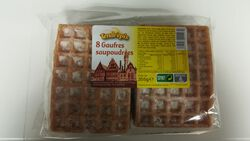 8 GAUFRES POUDREES - 355 G - LES BISCUITS GOURMANDS