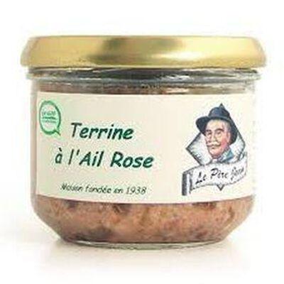 """Terrine à l'ail rose """"Le père Jean"""" 180g"""