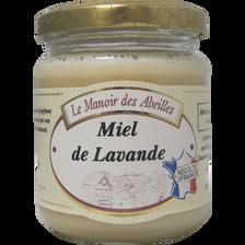 Miel de lavande de France LE MANOIR DES ABEILLES, pot de 250g