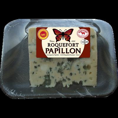 Roquefort, AOP, au lait cru, 32% de MG, 180g, PAPILLON
