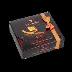 Assortiment cadeau tranches d'oranges&orangettes LES CHEVALIERS D'ARGOUGES, 170g